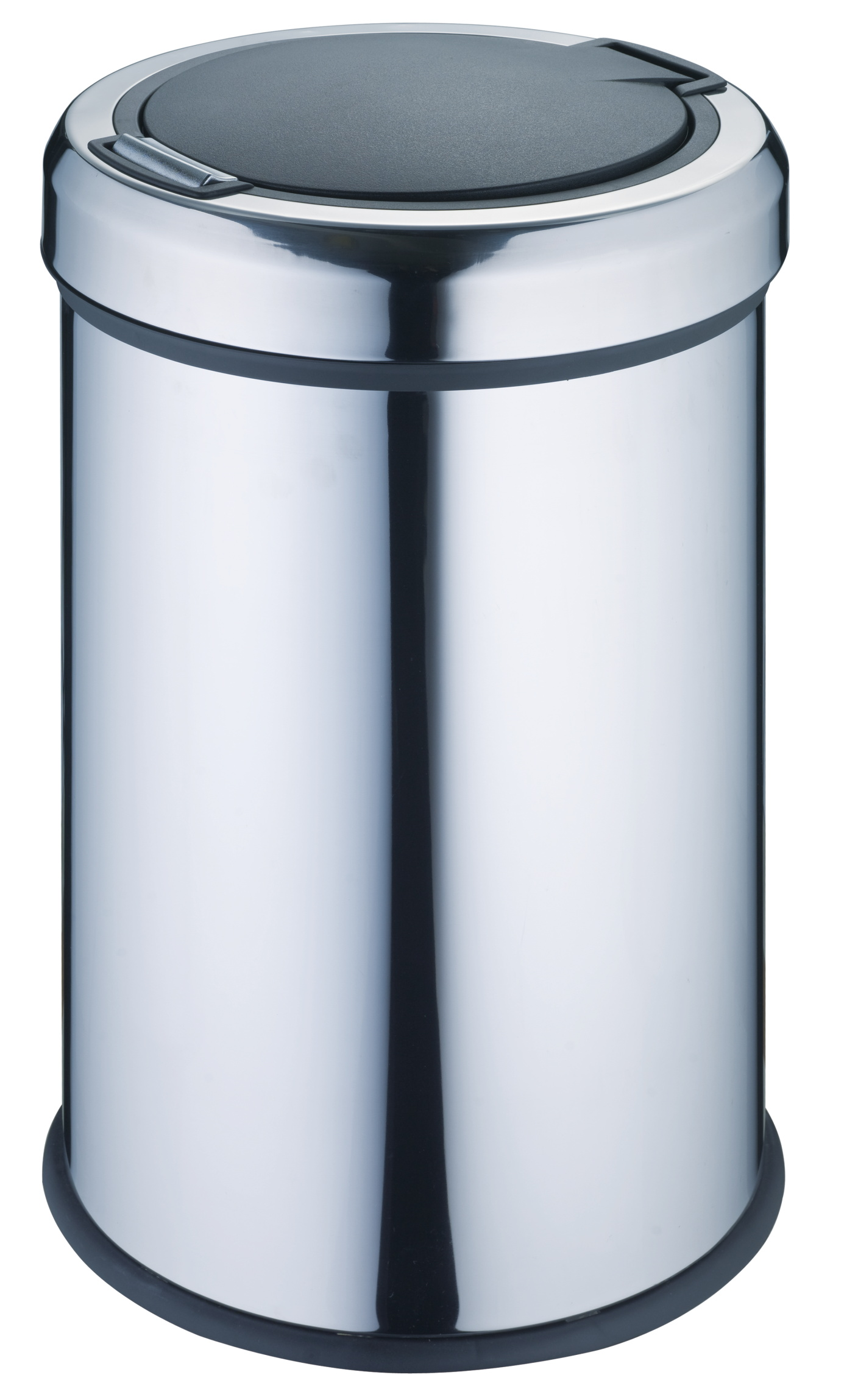 Stainless Steel Push Trash Bin/Trash Can/Garbage Can/Garbage Bin(with PP inner bin)