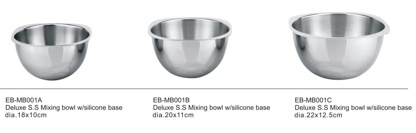 Professional Quality Stainless Steel Mixing Bowl For Serving Mixing Cooking And Baking