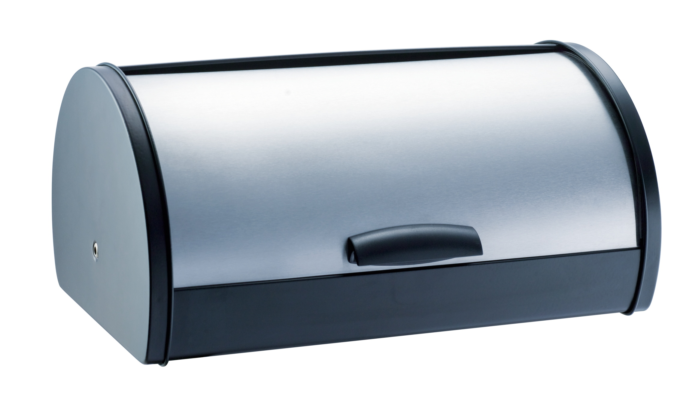 Stainless Steel Bread Bin Storage Box, Roll up Lid (Stainless steel), Bread Bin, Bread Storage, Bread Holder