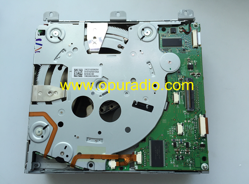 Alpine 6 CD DVD changer mechanism DZ63G180 exact PCB for Mercedes Benz C class W205 C180 C200 C250 C350 C63 W166 ML GLE car radio audio navigationg Video Media