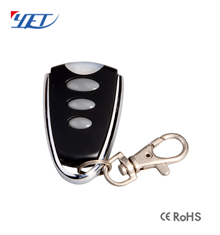 4 Channels Sliding Cover Remote Control for Door Opener