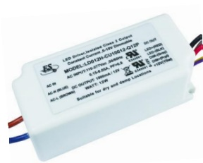 12W Constant Constant LED Driver Power Supply with 0-10V Dimming