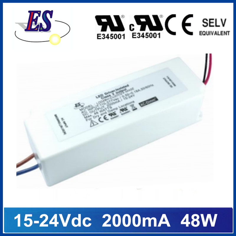 48W Constant Current LED Driver Power Supply with ELV Dimming