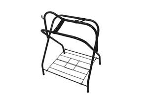 FOLDING SADDLE RACK Folding Size 2x3-1/2x35/ Unfold Size 26x19x 33 Total Weight Capacity 9.7 lbs