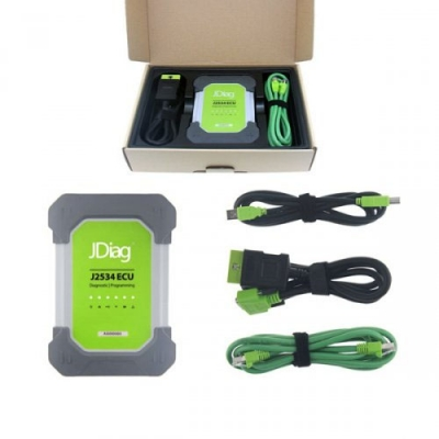 JDiag Elite II Pro J2534 Diagnostic Coding Programming Device