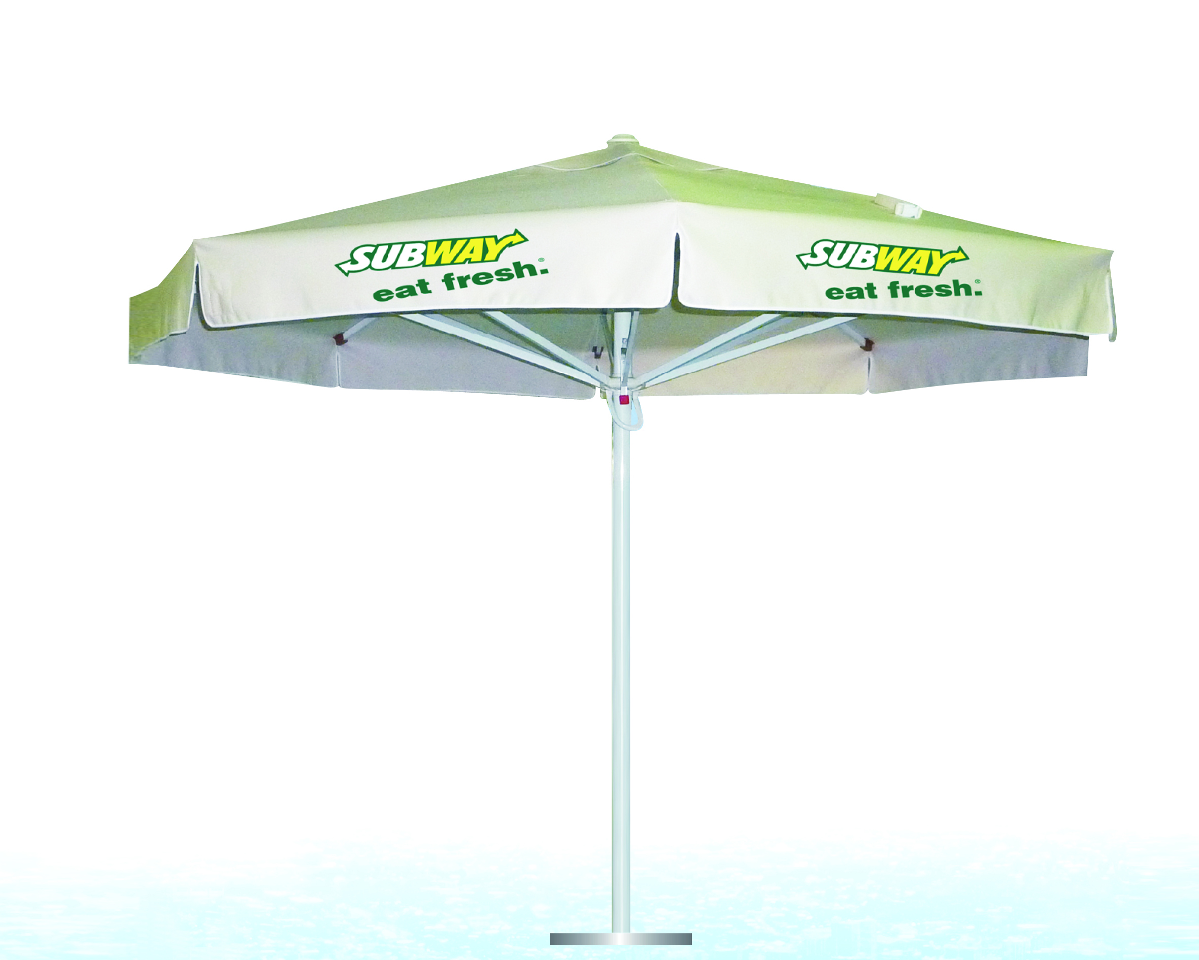 promotional custom logo printed budget cheap Disperse Pigment digital printing parasol