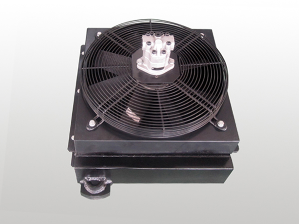 aluminum bar plate radiator cooling fan motor