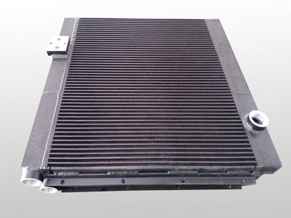 brazed bar plate fin water to air heat exchanger design