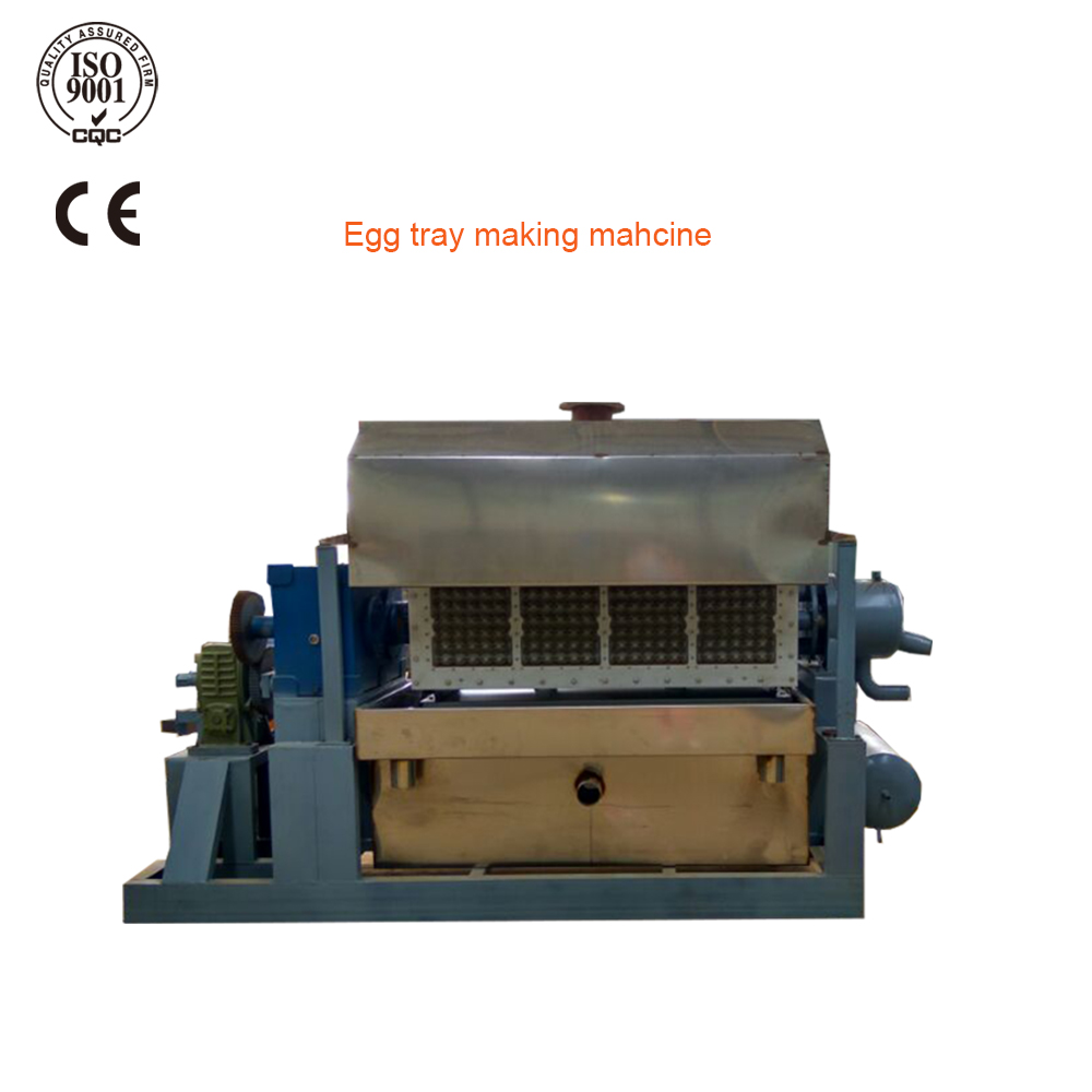 Hot sale easy installation paper egg tray making machine production line