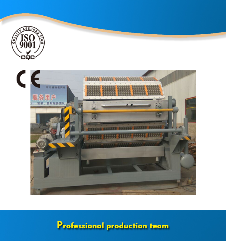 Big capacity paper pulp egg tray molding machine