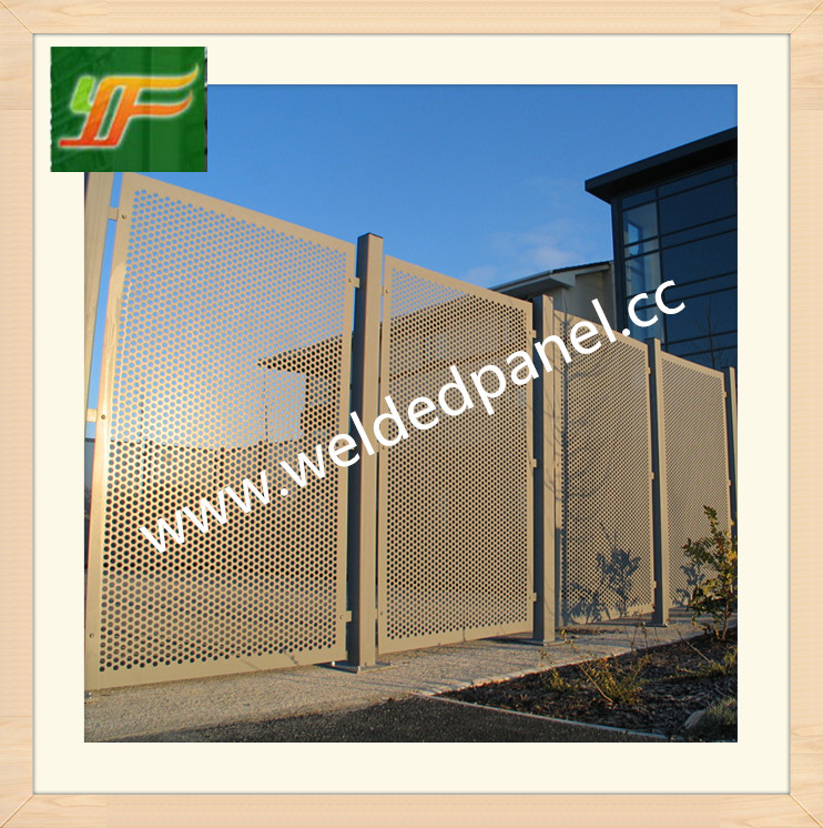 Beautiful and best quality decoration SS316,304 material perforated metal mesh sheet