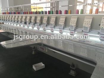 10 Head Rhinestone Stone Computerzied Embroidery Machine