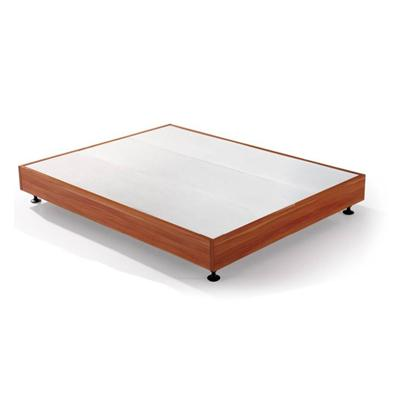 Great Value For Money Best Selling Hotel KD Wood Beds With Wheels Eco Friendly
