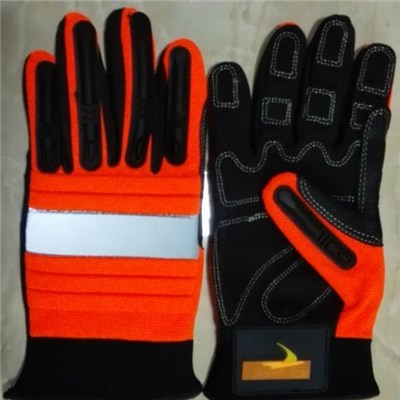 Oil Workers Gloves / Oil Industrial Gloves / Working Glves