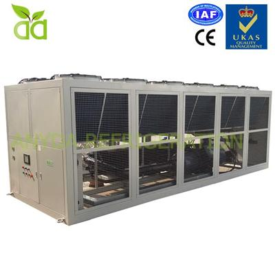 Air Cooled Brine Chiller For Ice Cream With -32C Outlet