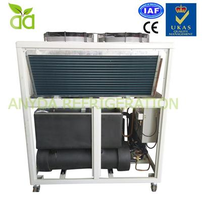 Air Cooled Glycol Chiller System With -5C Outlet