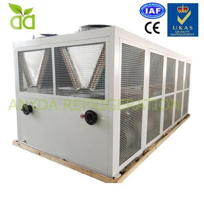 Packaged Air Cooled HVAC Air Conditioning Screw Water Chiller