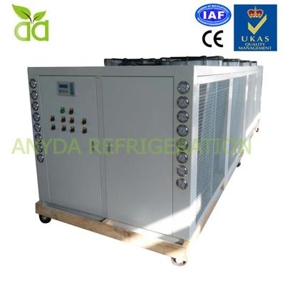Compact Air Cooled Compressor Cooling Chiller System