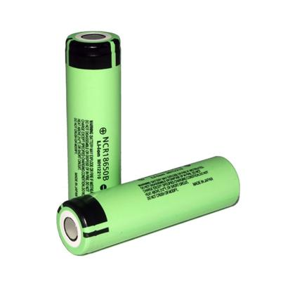 For Panasonic NCR18650B 3400mah 5A 3.7v Rechargeable Lithium Battery - Flat Top