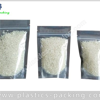 Euro Slot Stand Up Plastic Ziplock Bags Foil Stand Up Pouches For Food Packaging Bag Ziplock Top