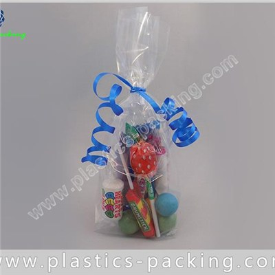 High Clarity OPP Cello Bags Food Safe BOPP Square Bottom Bags Crystal Clear Cellophane Bags