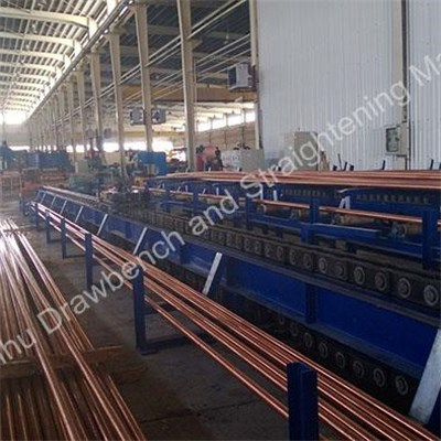 Good Quality Large Scale / Small Scale Steel Bar And Pipe Drawbench