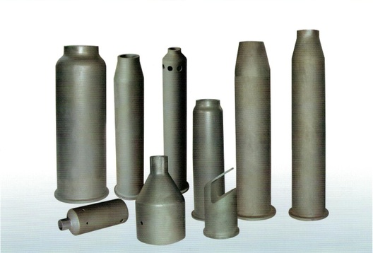 Refractory Reaction Bonded Silicon Carbide (RBSIC or SiSiC) Burner Nozzles