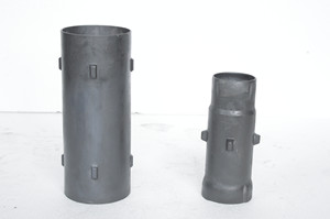Refractory Reaction Bonded Silicon Carbide (RBSIC or SiSiC) Radiation Pipes