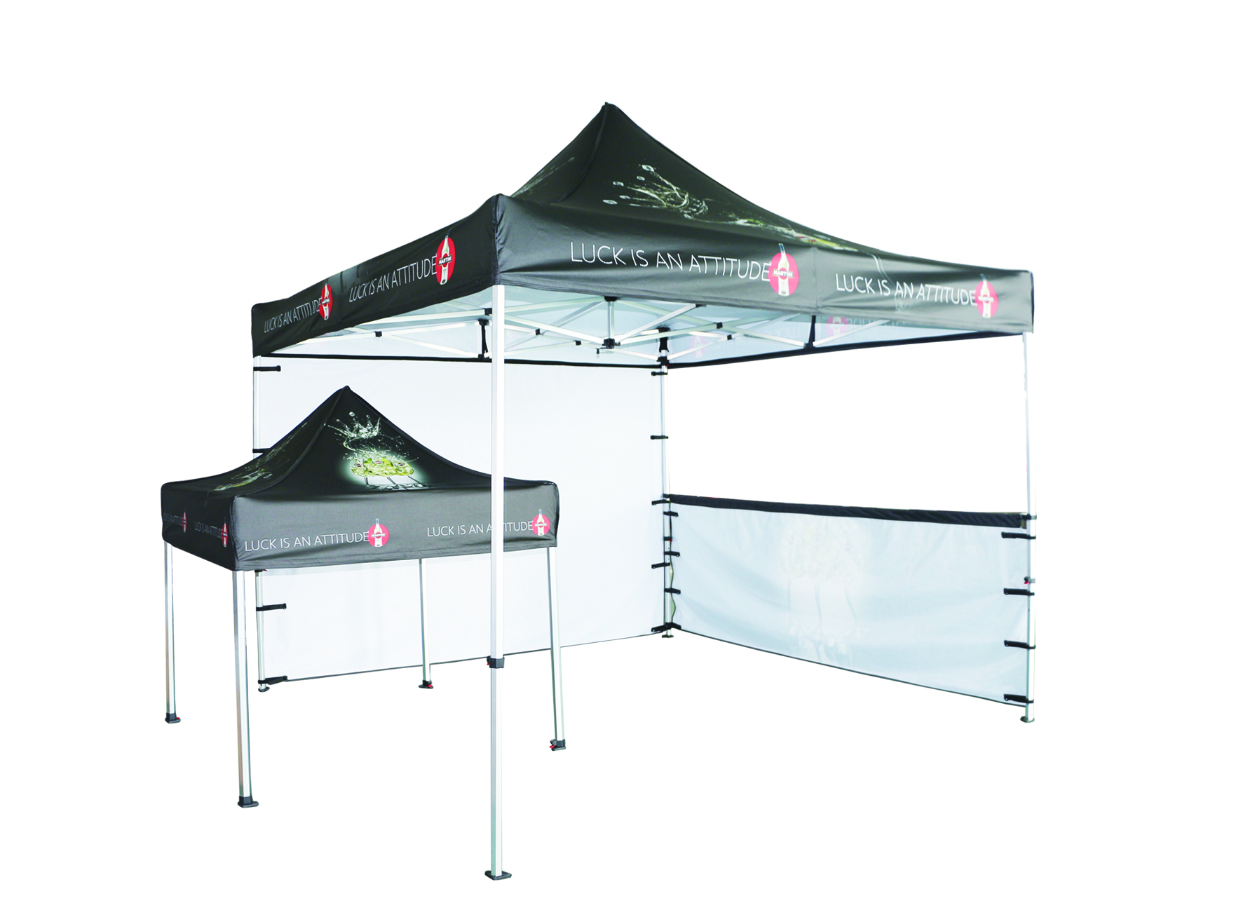 pretty and colourful outdoor waterproof tent with custom logo for event