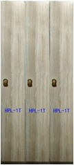HPL single door compact locker for hotel or golf  club