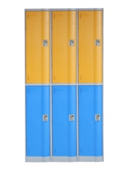 LE32-2 ABS engineering plastic hospital or water park locker cabinet