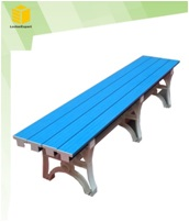 ABS plastic dressing bench for gym