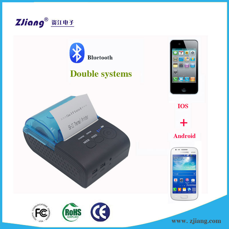 Free iOS &Free iOS & Android SDK usb rs232 portable wireless thermal printer bluetooth for online shopping india ZJ 5805 Android SDK usb rs232 portable wireless thermal printer bluetooth for online sh