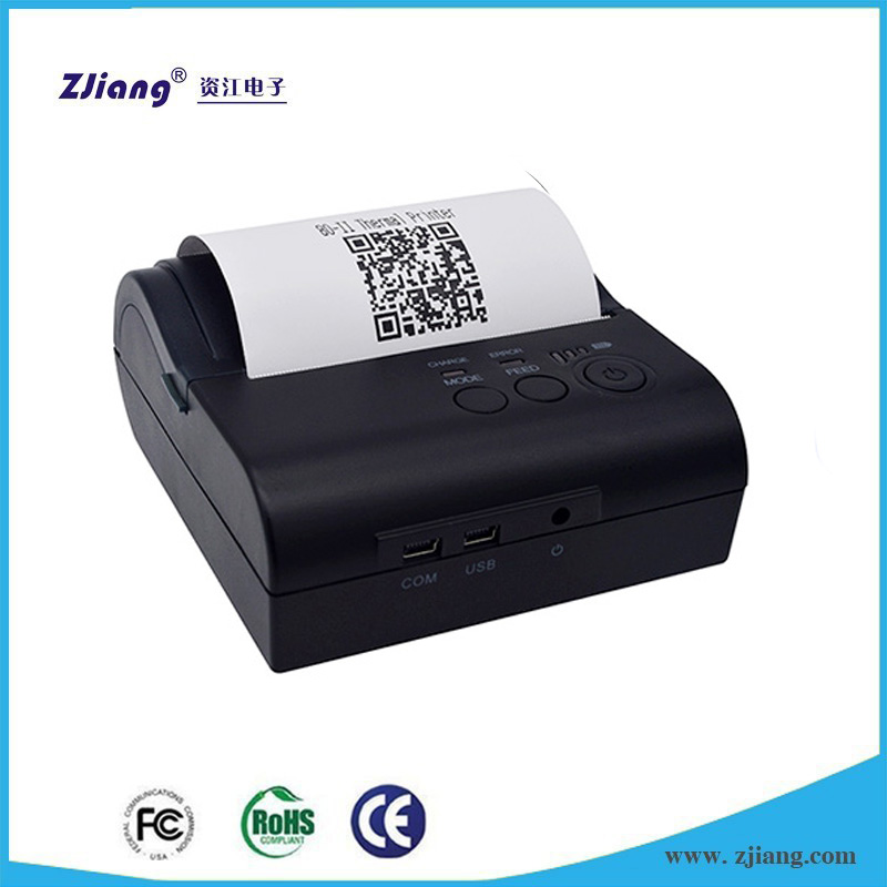 Handheld wireless cheap shop / carteen thermal bluetooth receipt mobile pos printer for supermarket