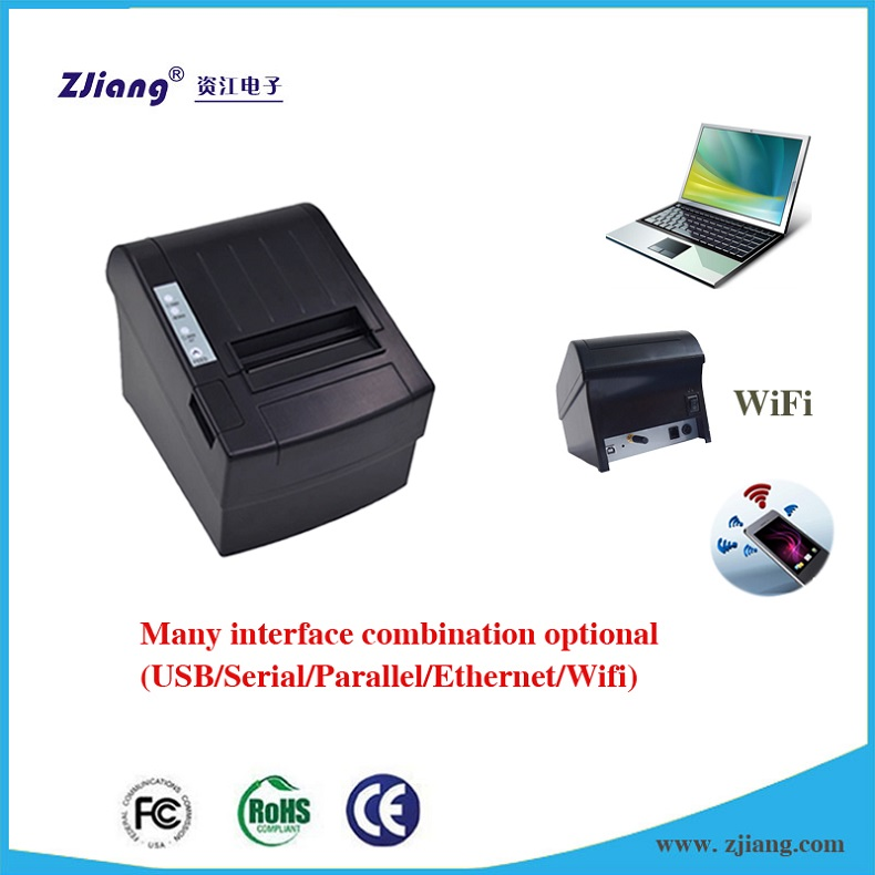 ZJ-8220 wholesale uk thermal receipt printer bluetooth supermarket bill printer price