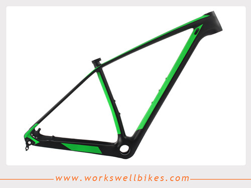 XS Carbon Fiber 29ER Hardtail Mountain Bike Frame made in China with Lightweight