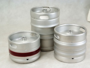 20L rubber and stainless steel BEER KEGS