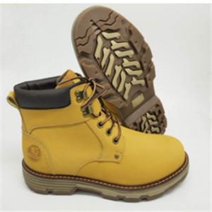 lace up men boot with action nuback leather and fur lining boot (CAS66003, BRAND: CARE)