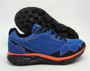 Navy men's sport shoes with fashion design (CAY61073, BRAND: CARE)