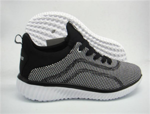 White Flyknit upper with fashion uppers sport shoe (CAY61098, BRAND: CARE)