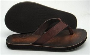 Leather slipper Upper(TRINIDAD,brand:CARE)