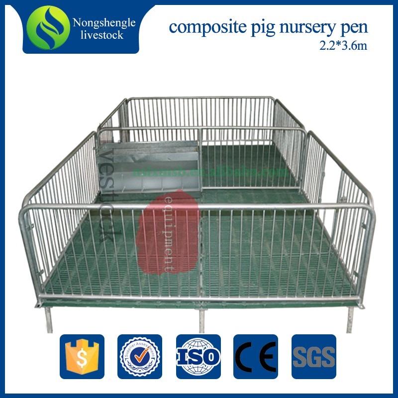 pig breeding equipment weaner crate nursery pen