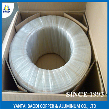 LWC aluminum coil tube pancake tube 1050,1100 1200 for Heat Exchanger/Radiato