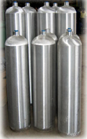 High Pressure Seamless Aluminium Alloy Gas Cylinders
