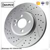 Auto parts for vehicle brake disc rotor