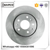 Brake Disc drilled and slotted E-coating