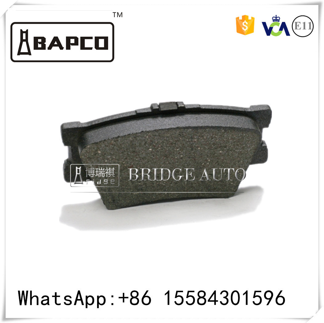 Front& Rear car brake pads Euro car parts