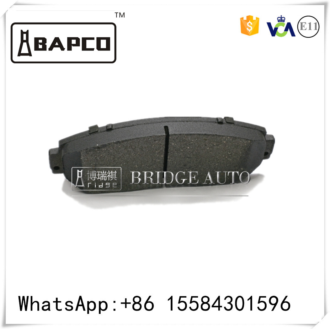 Top sale China brake pad factory