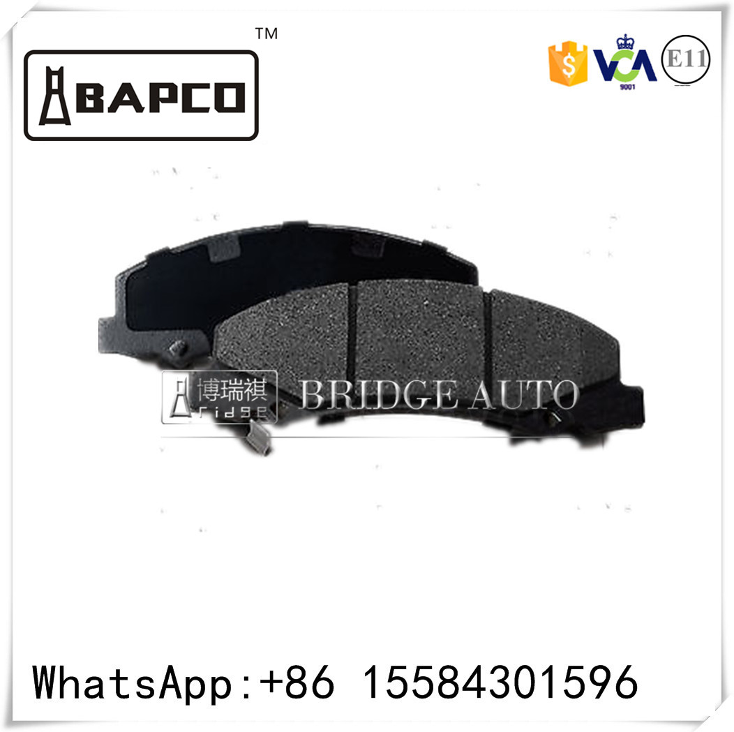 top quality brake pad manufacture from China