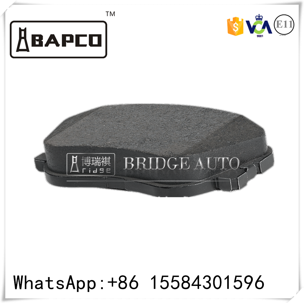 brake pad with E-mark certificate Euro market